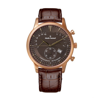 CLAUDE BERNARD CLASSIC CHRONO  41MM MEN'S WATCH 01506 37R BRIR