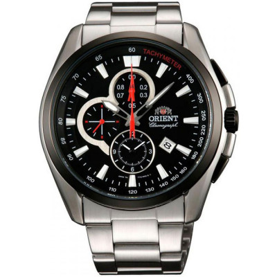 ORIENT SPORTY CHRONOGRAPH 44 MM MEN'S WATCH FTT13001B