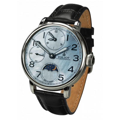 POLJOT INTERNATIONAL DOUBLE TIMER 43MM MEN'S WATCH 9120.2940336