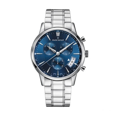 CLAUDE BERNARD CLASSIC CHRONO 42MM MEN'S WATCH 01002 3M2 BUIN