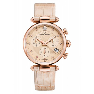 CLAUDE BERNARD DRESS CODE CHRONOGRAPH 35 MM.LADIES' WATCH 10215 37R BEIR2