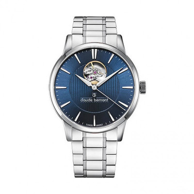 CLAUDE BERNARD AUTOMATIC OPEN HEART 41MM MEN'S WATCH 85017 3M2 BUIN