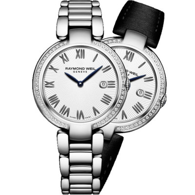 RAYMOND WEIL SHINE QUARTZ 32MM LADIES WATCH 1600-STS-00659