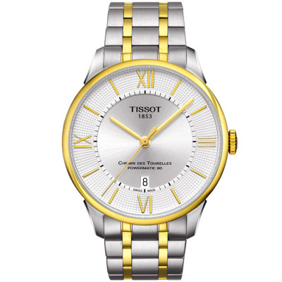 TISSOT CHEMIN DES TOURELLES   42 MM    POWERMATIC 80    T099.407.22.038.00