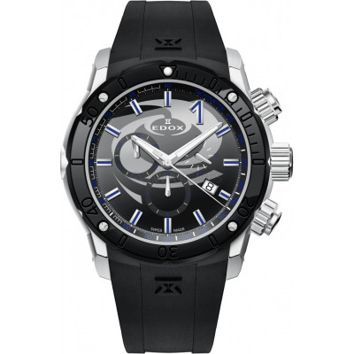 EDOX CLASS-1 WCF QUARTZ 45MM MEN'S WATCH 10221 3N NINCU