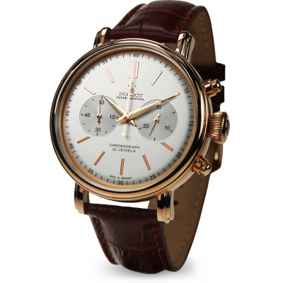 POLJOT INTERNATIONAL CLASSIC CHRONO HAND WINDING 43MM MEN'S WATCH 2901.1940214