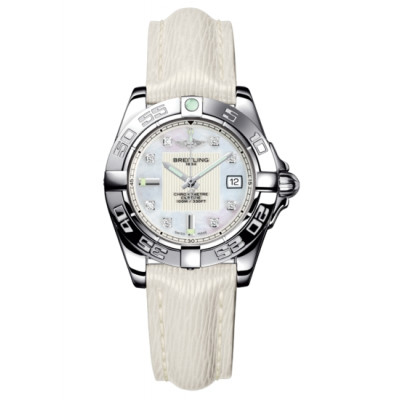 BREITLING  GALACTIC 36   AUTOMATIC  LADIES WATCH A3733012/A717/239X