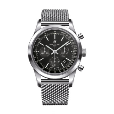BREITLING TRANSOCEAN CHRONOGRAPH 43MM AUTOMATIC MEN'S WATCH    AB011012/BA99/154A