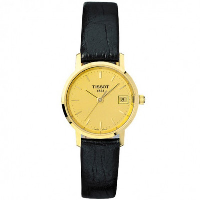TISSOT T-GOLD GOLDRUN QUARTZ 24MM LADIES WATCH T71.3.114.21