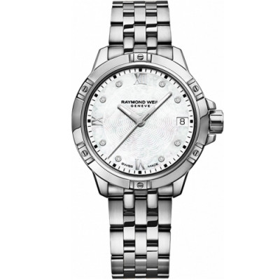 RAYMOND WEIL TANGO QUARTZ 30MM LADIES WATCH 5960-ST-00995