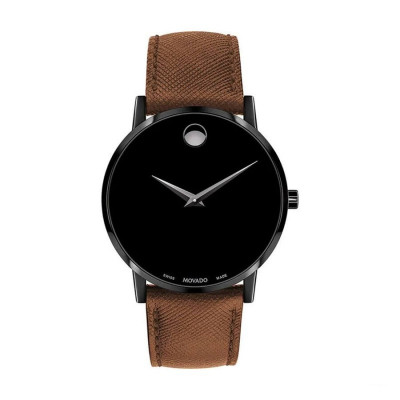 MOVADO MUSEUM QUARTZ 40MM MEN'S WATCH 607198