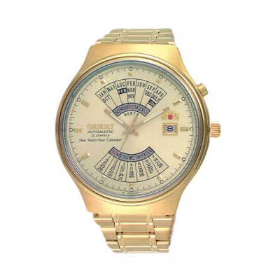 ORIENT MULTI-YEAR CALENDAR 43 MM MEN'S WATCH FEU00008C