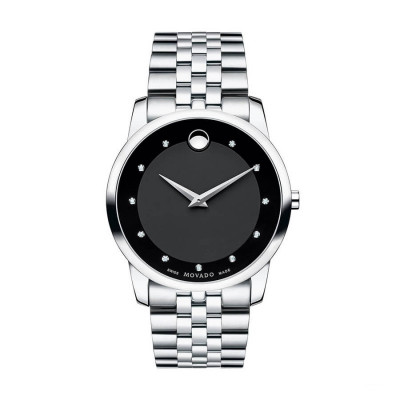 MOVADO MUSEUM QUARTZ 40MM MEN'S WATCH 606878