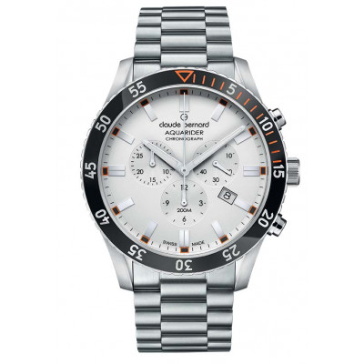 CLAUDE BERNARD AQUARIDER CHRONO 44MM. MEN'S WATCH 10223 3NOM AO