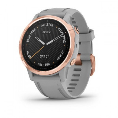 GARMIN FENIX 6S SAPHIRE ROSE GOLD GREY 42MM 010-02159-21