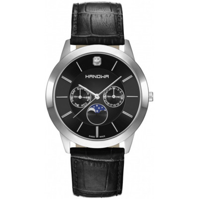 HANOWA  ELEMENTS MOON GENT 42 MM MEN'S WATCH 16-4056.04.007